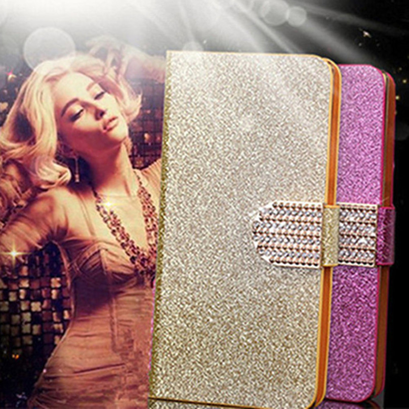 Original Bling Glitter Phone <font><b>Case</b></font> Cover Fundas for <font><b>Samsung</b></font> Galaxy <font><b>Note</b></font> <font><b>5</b></font> 4 3 2 Neo Lite <font><b>Flip</b></font> <font><b>Cases</b></font> A8 A7 2015 A5 A3 2016 image