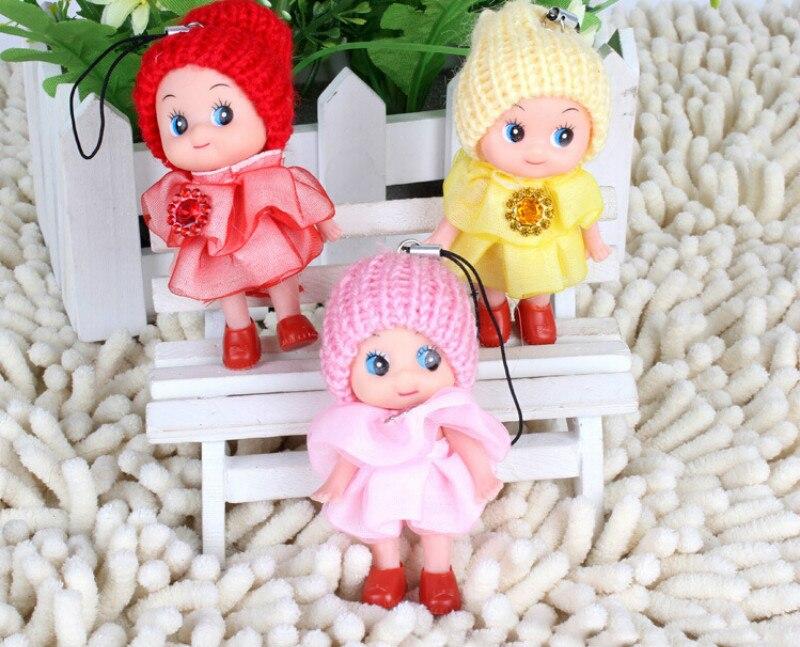 1 Stücke Mini Ddung Puppe Beste Spielzeug Geschenk Für Mädchen Verwirrt Puppe Schlüssel Kette Telefon Anhänger Ornament Gelegentliche Clour Weitere Rabatte üBerraschungen