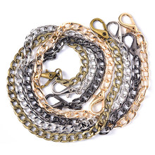 4 Color Strap Chain for Shoulder Cross Body Bag Handbag Purse Strap Accessories Long 40cm Fashion Metal(China)