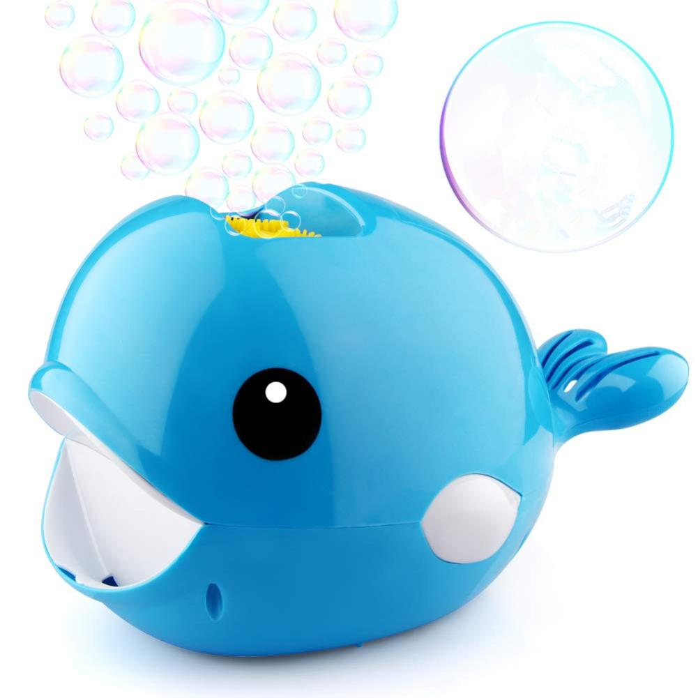 Automatic Whale Bubble Maker Blower Toy for Kids Boys Girls Indoor Outdoor Party Wedding with Bubble Water in Bubbles from Toys Hobbies