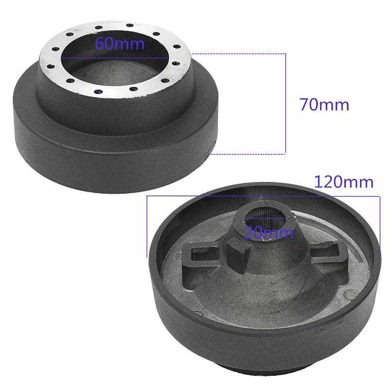 Quick Release Steering Wheel Hub Adapter Black Racing Part Replacement Car Kit Set For BMW E46 Practical Useful