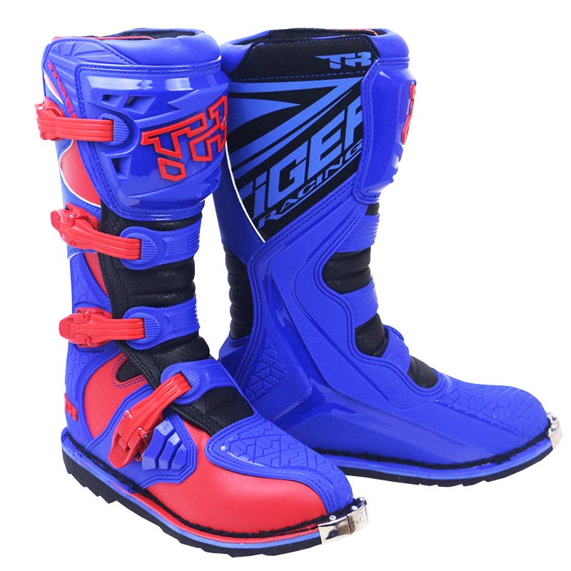 Motorcycle Riding Boots Botas Moto Shoes Leather Off-road Biker Motocrosss Boots Anti-falling Forest Road Rally Racing Shoe
