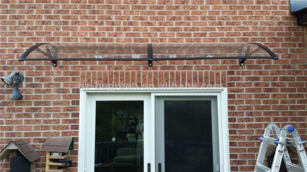 YP100200 100x200 cm porta de entrada dossel dossel toldo da janela porta da frente