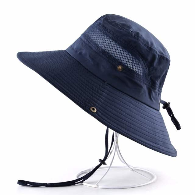 e9eb5d31401b Online Shop TQMSMY Sun Hats for men Bucket Hat women's Wide Brim Anti-UV  cap men's summer Fishing Caps Breathable mesh bone Beach hat man |  Aliexpress ...