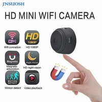 Micro WIFI Mini Camera HD 720P With Smartphone App And Night Vision IP Home Security Video Cam Bike Body DV DVR Magnetic Clip Vo
