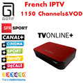 Caixa de IPTV francês NeoTV QUDTV AVOV TVonline iPremium Arábica Belga Polónia Portugal Espanha Turco IPTV Europeu Céu É do REINO UNIDO DE IPTV