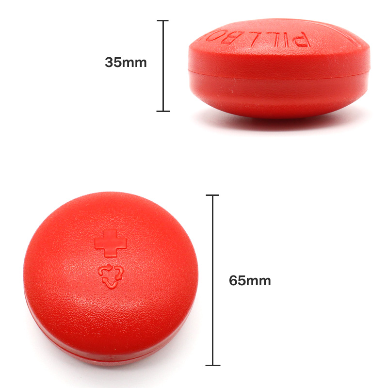 Portable Plastic Pill Case Medical Kit Vitamin Medicine Pill Box Storage Box Pill Container Health Care Travel Accessories Gifts in Pill Cases Splitters from Beauty Health