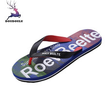 32a28a86af79d Men Summer Mixed Colors Shoes Sandals Male Slipper Indoor Or Outdoor Flip  Flops Beach Shoes Casual