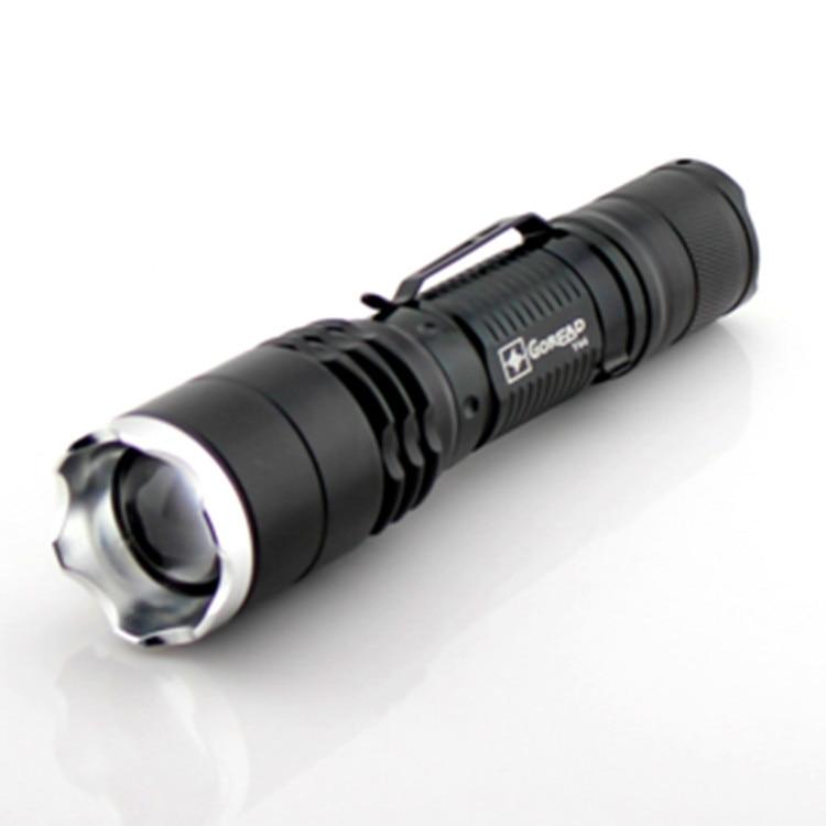 RA-Y44 CREE XM-L U2 COOL WARM WHITE torch Tactical Flashlight light POWER BY 18650/3xAAA - QIHANG fashion shop store