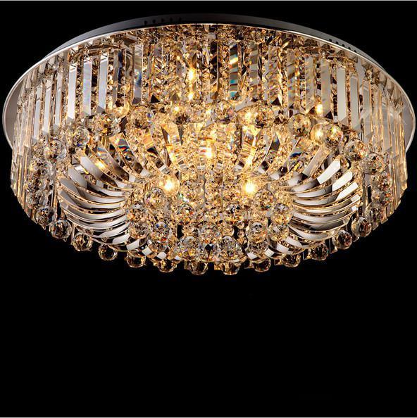 Modern Luxury crystal lamp led lamp sitting room light Crystal lamp sitting room E14 6x3W freeshipping