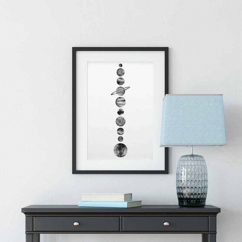 Solar System Canvas Prints