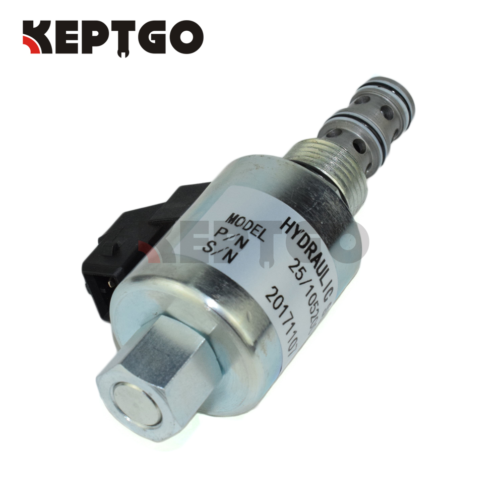12v Solenoid Valve For Jcb 1400b 1550b 3cx 4cx 25 105200 26 960900 Wiring Schematic 974000 332 M5111 In Generator Parts Accessories From Home Improvement On