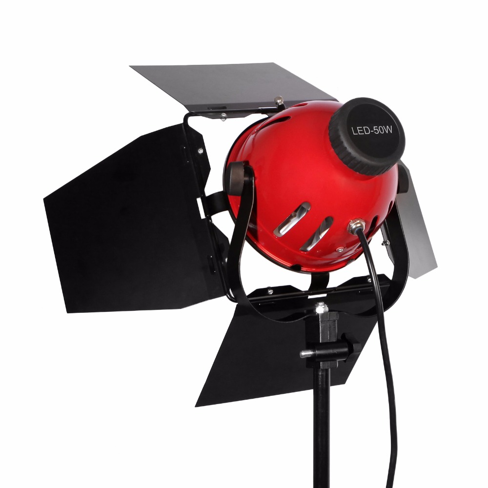 50W 5500K Photographic Lighting Dimmable Continuous Compact Studio Light Strobe Lighting Lamp Head for Camera Photo video Equipment (7)