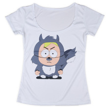 Cartoon Dog Funny Print Women Scoop Neck T Shirt Polyester Top Quality Summer Casual Women T Shirt Size S-3XL