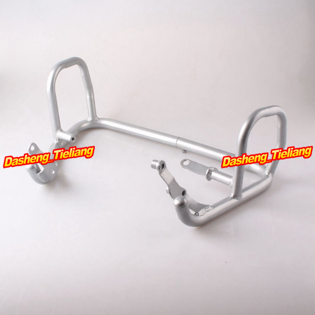 For BMW F800GS F700GS F650GS Crash bars Protection 2008 2009 2010 2011 2012 2013 Steel Silver
