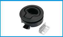 IBST LIFE Black nylon NO key Flush Boat marine Latch Flush Pull Latches Slam lift handle Deck Hatch marine hardware