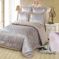 SILK PLACE 2016 Cotton Bed Linen Queen King Size Bedding Sets Fashion Jacquard Duvet Cover Flat