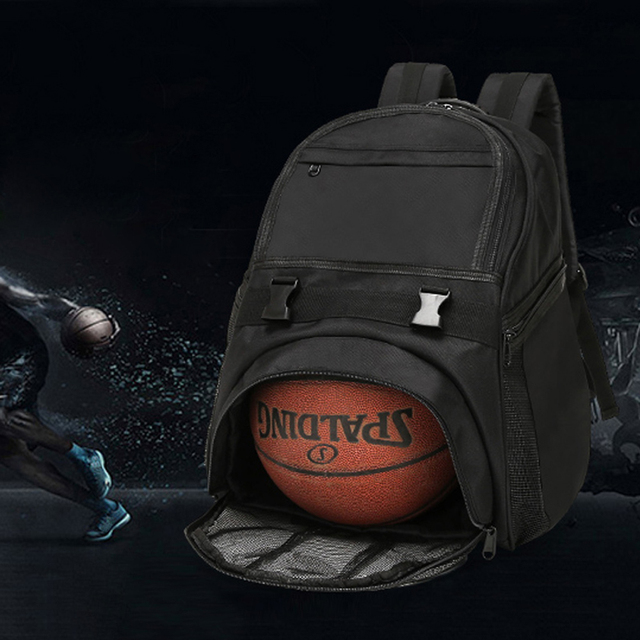 2018 new Soccer Ball Pack Bag  Training Bags Profession basketball Gym Backpack Durable Waterproof black blue color ball bag