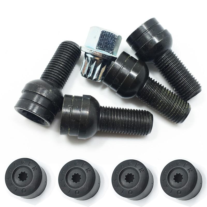 Spike Lug Nuts 14x1.5mm Acorn fit GMC Sierra Yukon XL Acadia Canyon Safari Blue