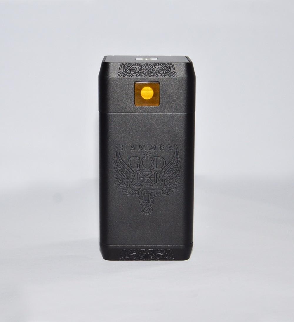 Cigarette électronique Vaporisateur Marteau de Dieu V4 Boîte Mécanique Mod fit 4*21700 Batterie Énorme Puissance pour Mech RDA RTA 510 Atomiseurs Réservoir - 3