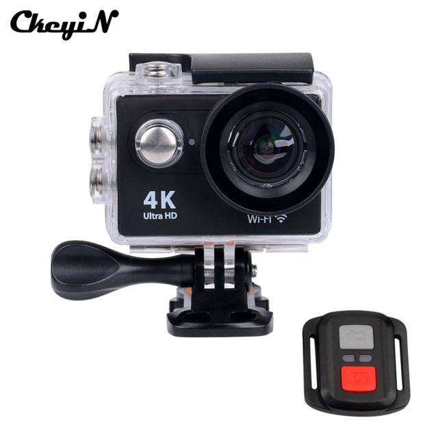 """16MP 4K Camera WIFI Go Pro Action Sport Camera With Remote Control Diving 30m Waterproof Camcorder 2.0"""" LCD Screen -3031"""