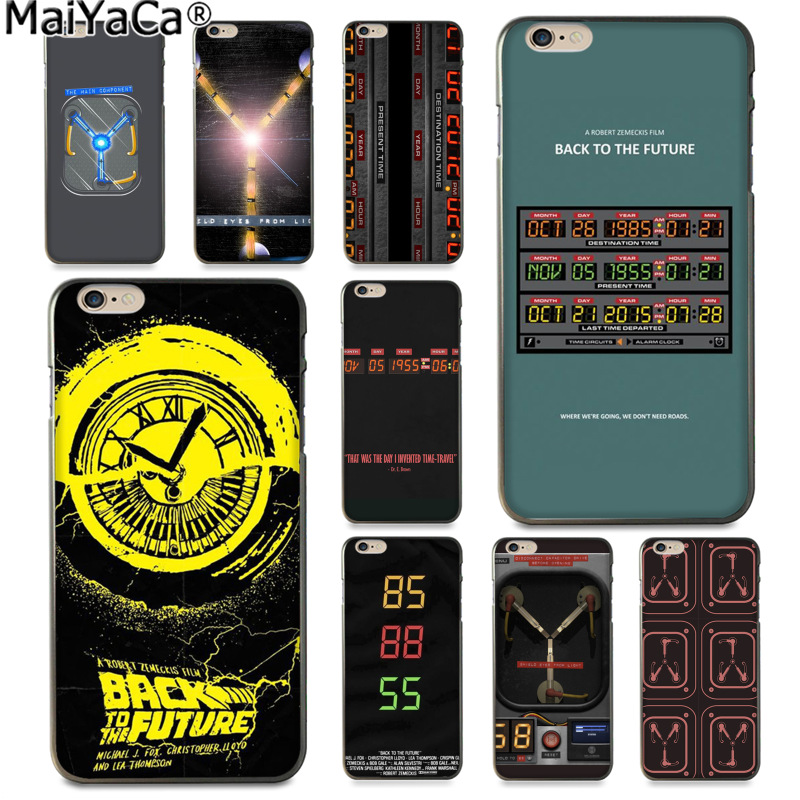 MaiYaCa Capacitor Back To The Future Funny Phone Cover Coque for Apple iPhone 8 7 6 6S Plus X 5 5S SE 5C Cover