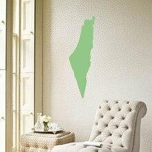 Israel map Globe Earth Country wall vinyl sticker custom made home decoration fashion design