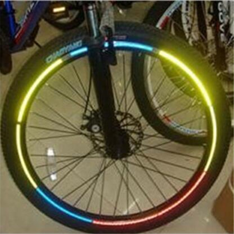 Free Shipping New 32* Bike Bicycle DIY Wheel Reflective Tape, Wheel Lights for Riding Safety at Night ...