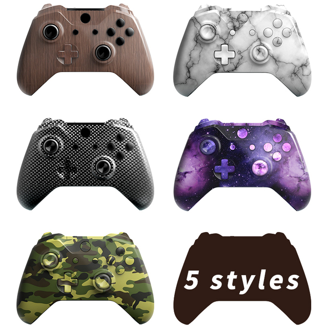 RETROMAX Full Set Of Shells For Xbox one Slim Replacement Case With Small Buttons For Xbox one Slim Wireless Controller