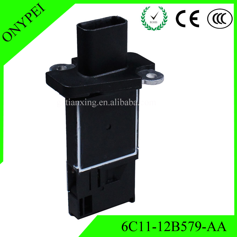 MAF Sensor 6C11 12B579 A Mass Air Flow Meter For FORD TRANSIT 6C11-12B579-AA 1376235 AFH70M54
