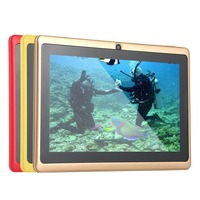 7 android 4 7 Inch Quad-core Tablet Computer Q88h All-in A33 Android 4.4 wifi Internet Bluetooth 512MB+4GB Convenient (3)