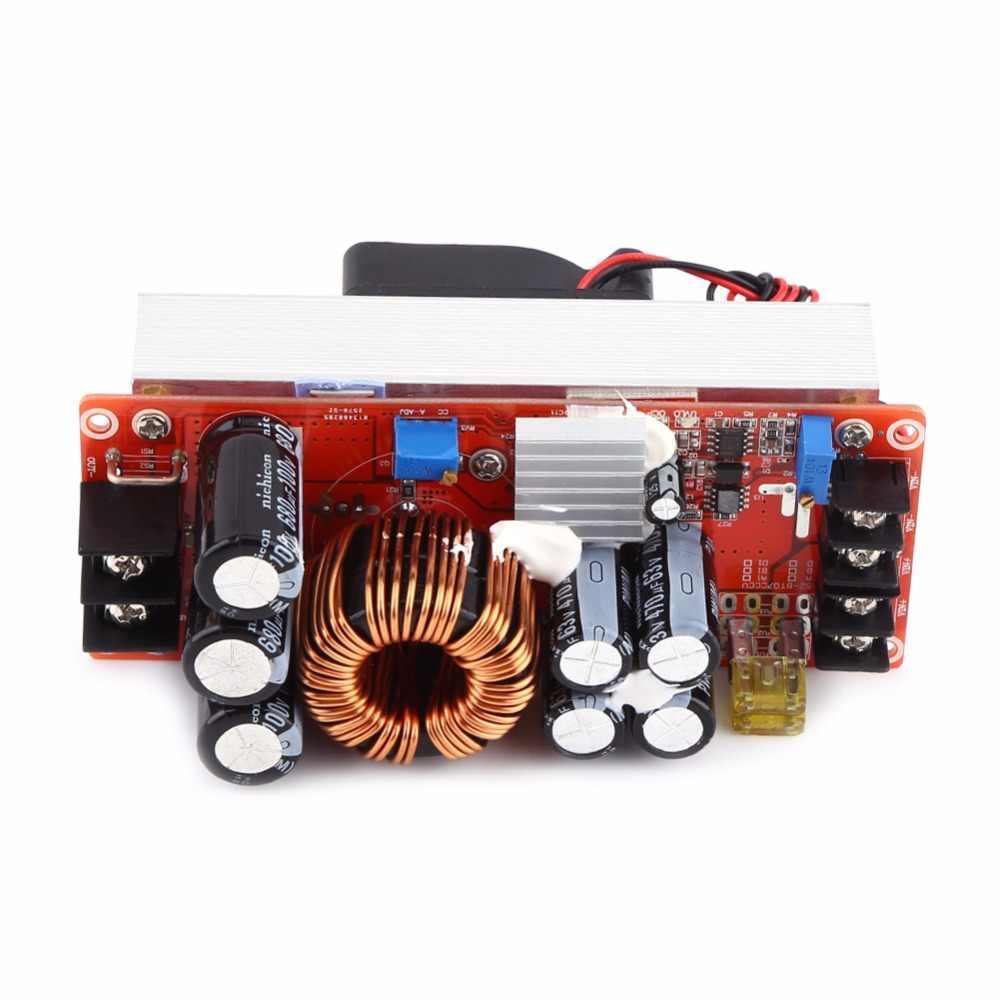 1500 Вт DC-DC повышающий преобразователь 10-60 В до 12-90 в 30A Постоянный ток модуль питания светодиодный драйвер преобразователь напряжения