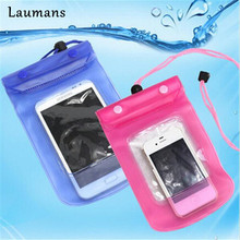 Laumans 5pcs Waterproof Phone bag case underwater photograph diving Pouch Dry bag for iphone for Samsung for wallet/key/cash