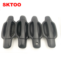 SKTOO For Great wall wingle 3 Wingle 5 door handle outer handle of handle assembly black pockmark