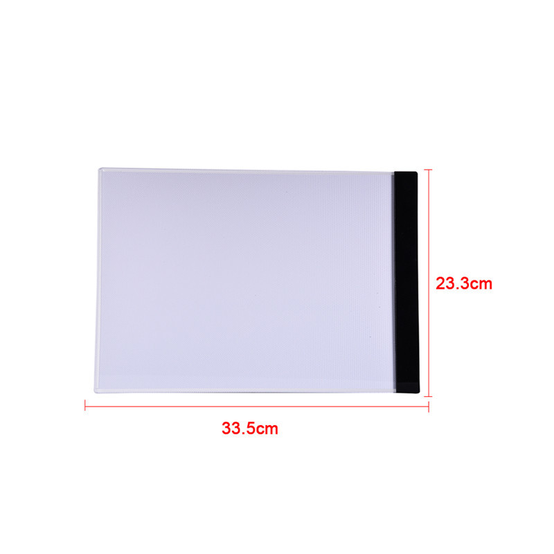 Arrival Ultrathin A4 Quality Pratical 4mm Drawing Copy Board Animation Copy Tracing Pad Board LED Light Box Without Radiation