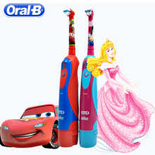 Oral B Children Sonic Toothbrush No Rechargeable Oral Hygiene Kids Brush Teeth Battery Power Electric Tooth brush oral b electric toothbrush rotating vitality d12013 rechargeable teeth brush oral hygiene sonic tooth brush teeth brush heads