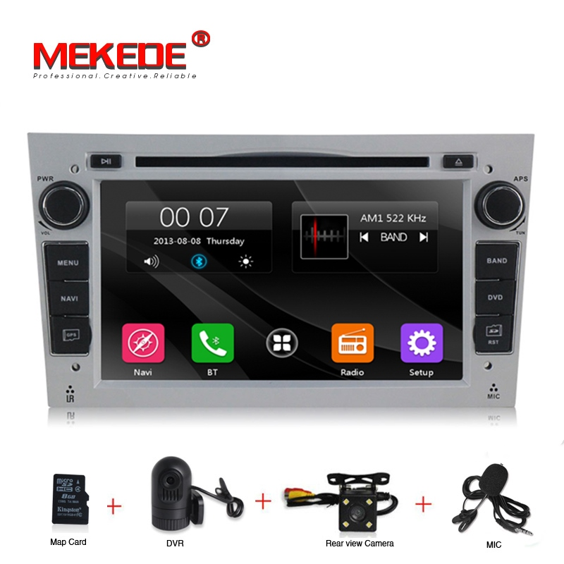 2Din Radio Car DVD Multimedia Player Fit Opel Vectra Corsa D Astra H Steering Wheel Audio