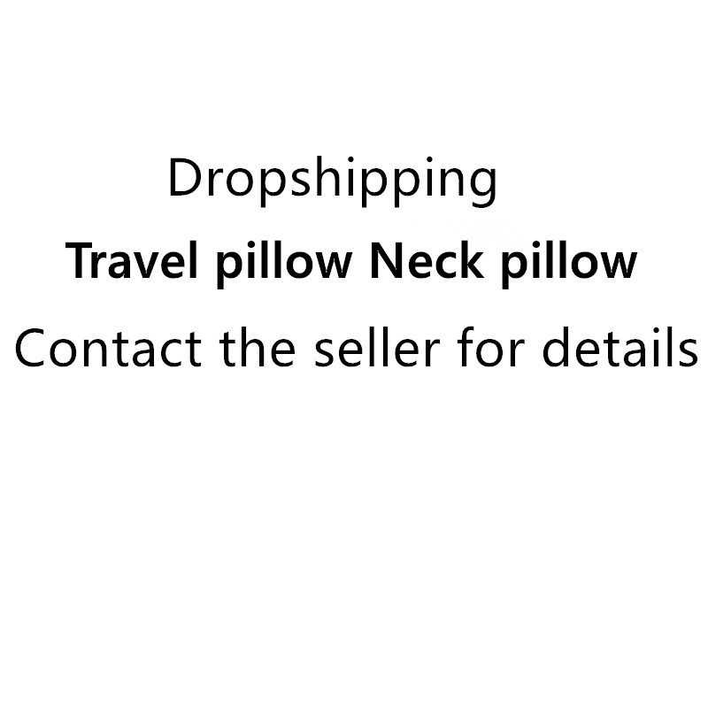 Dropshipping Airplane Travel Neck Pillow Comfortable Travel Pillows For Sleep Home Textile Pillow Travel