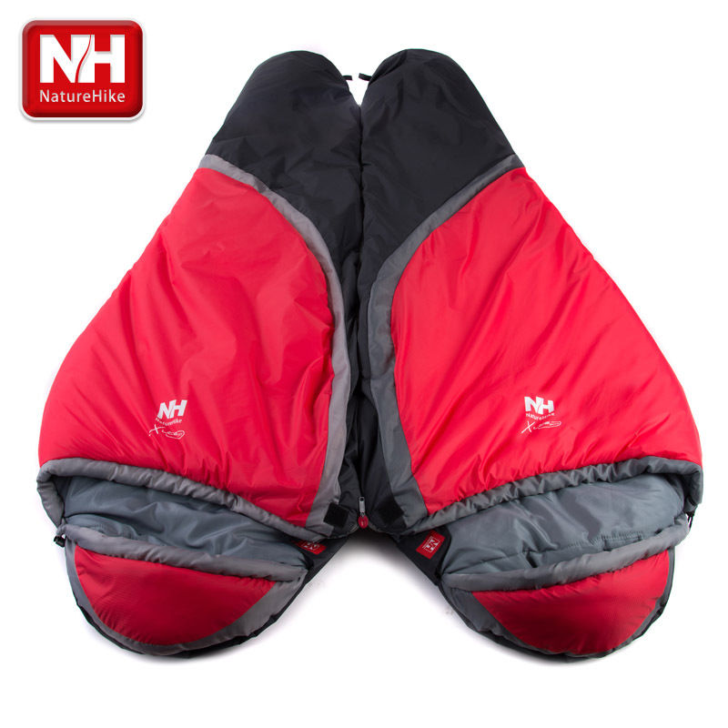 Outdoor Camping Thermal Tent Hiking Winter - 5 degrees Single Adult Mummy Sleeping Bag outdoor winter camping tent backpacking mummy sleeping bag