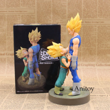 Dragon Ball Z Vegeta & Trunks 1/8 Scale Painted Figure Super Saiyan Ver. PVC Action Figure Collectible Model Toy 20cm KT3352