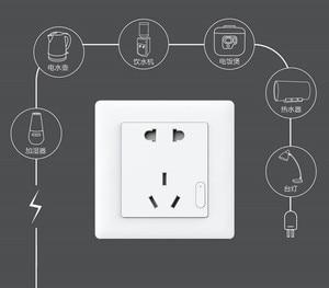 Image 5 - Original Xiaomi Smart home Aqara Smart Light Control ZiGBee Wall Switch Socket Plug Via Smartphone Xiaomi APP Wireless Remote