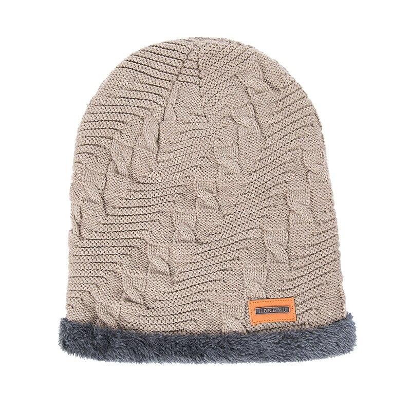 dbdadcd10413d Evrfelan Men Warm Hats Scarf Set Winter Hat Knitting For Men Scarves Lady Beanies  Knitted Hats Women s Hats Ring Scarf Set 2-in Men s Scarf Sets from ...