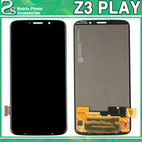 Tested For Motorola Moto Z3 Play XT 1929 LCD Display Panel+ Touch Screen Front Sensor Glass Digitizer Panel Assembly