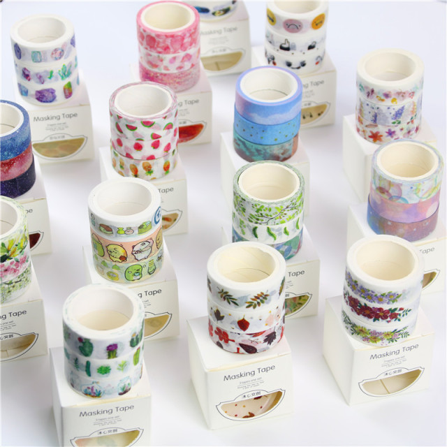 Flower Masking Washi Tape