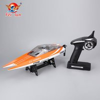 Feilun FT016 RC Boat 30km/h High Speed Racing Remote Control Flipped Water Cooling Boat Electric Toy as Gift for Kids NEW