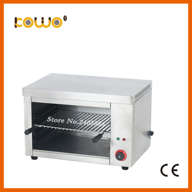 Kitchen Salamander Rectangular Tables Ce Stainless Steel Handing Electric Grill Machine Silver Toaster Oven Food Processors
