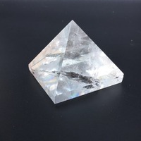 Wholesale natural clear quartz crystal stone transparent crystal healing pyramid|Stones|   -