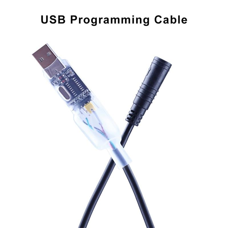 Middle Drive Motor Kits USB Programming Cable for Bafang BBS01 BBS02 BBSHD  Mid Drive Motor