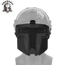 Тактический черный ТПЭ быстрое освобождение полное лицо защитная маска пейнтбол аксессуары Fit Спорт на открытом воздухе охота стрельба Велоспорт