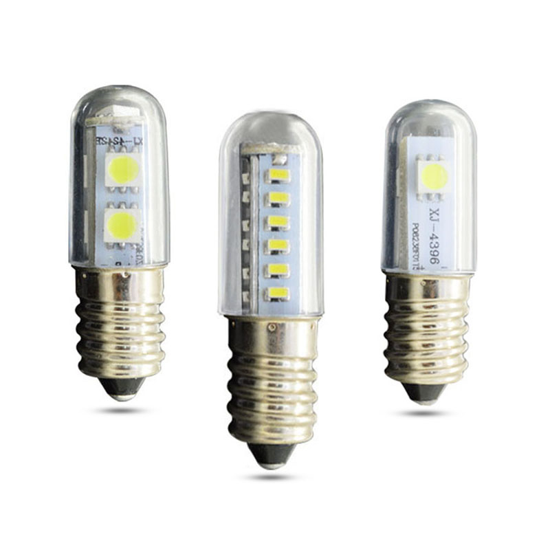Mini E14 LEDs 360 Degree AC 220~240V 1.5W 3W 7W 5050SMD 3014SMD Replace 30W/40W Halogen Light Chandelier